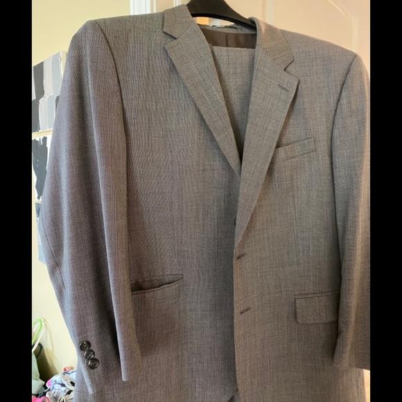Ralph Lauren gray 2 piece men's suit